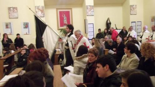 MESSA DEL CAVALIERE A TREMENSUOLI DI MINTURNO (LT)