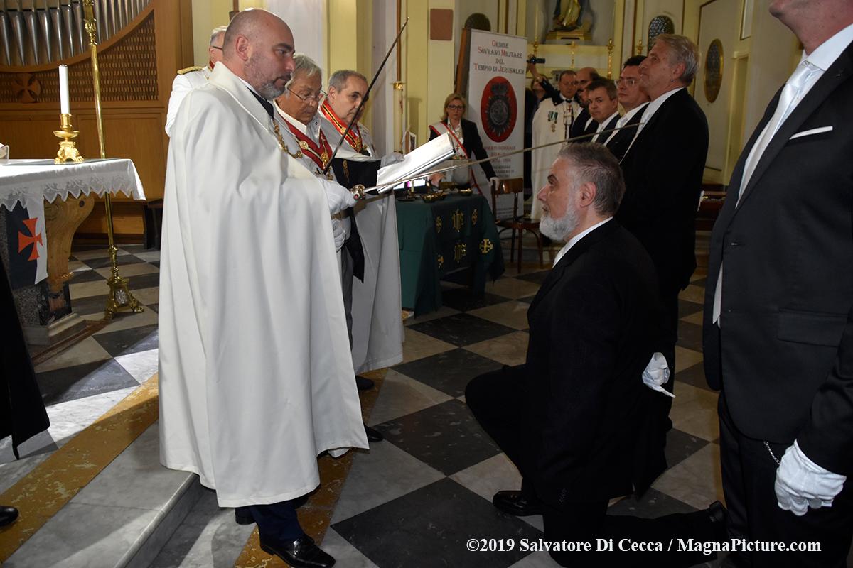 34° Capitolo di investitura Templare a Portici