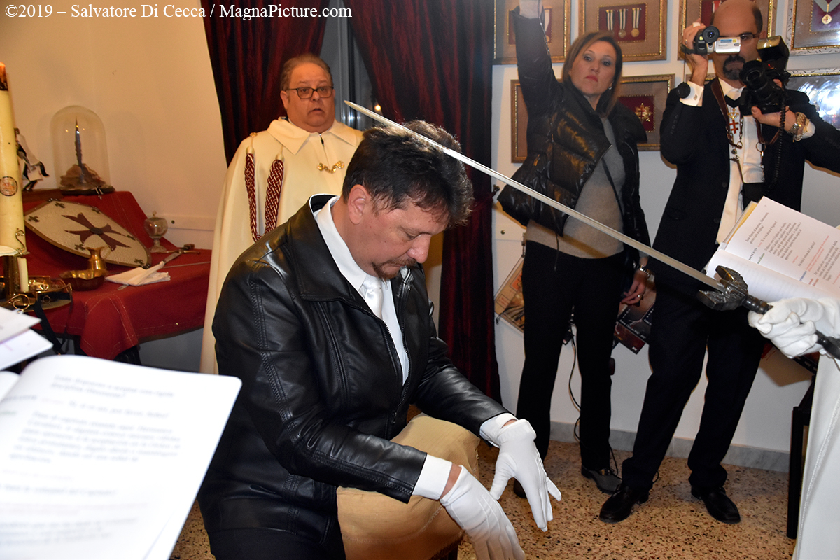Somma Vesuviana – 35° Capitolo di Investitura Tempalre e Rituale di fine ed inizio 901°/902° anno dell'Ordine il 15 marzo 2020