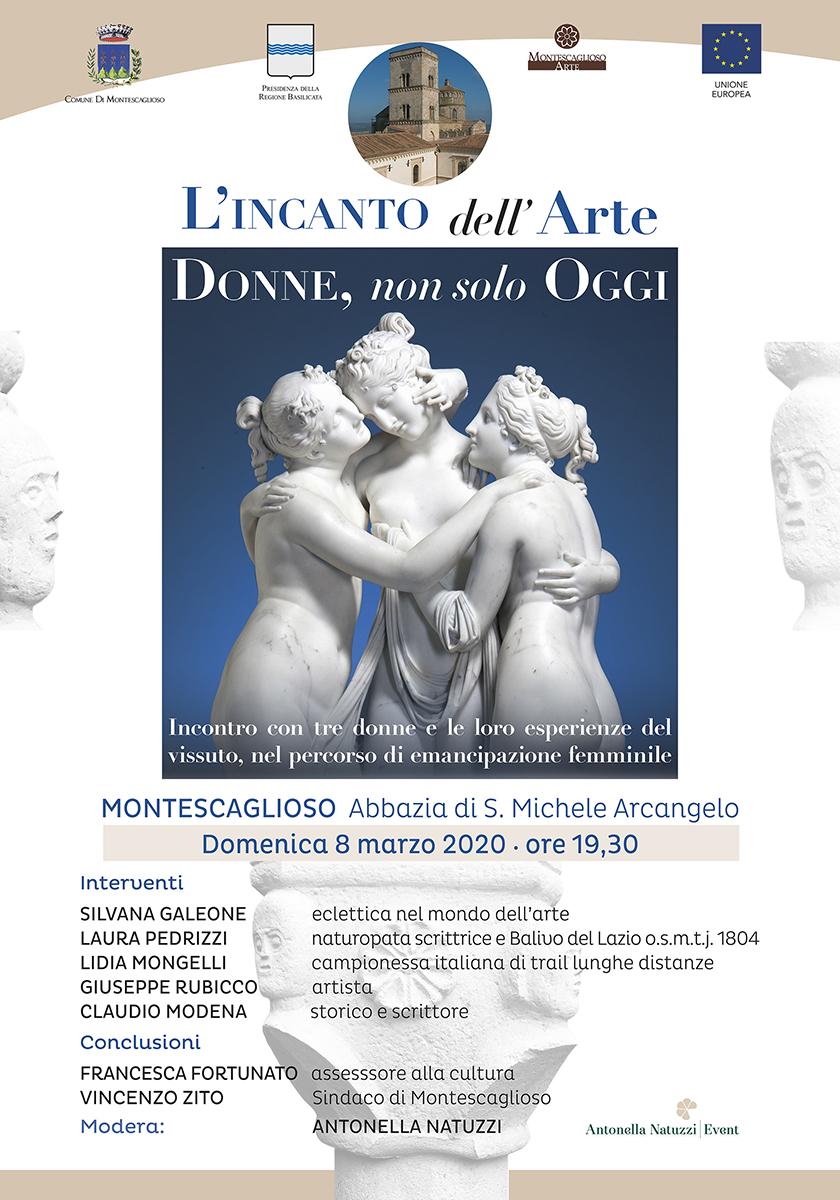 Montescaglioso (MT) – Incontro L'incanto dell'Arte: Donne non solo Oggi
