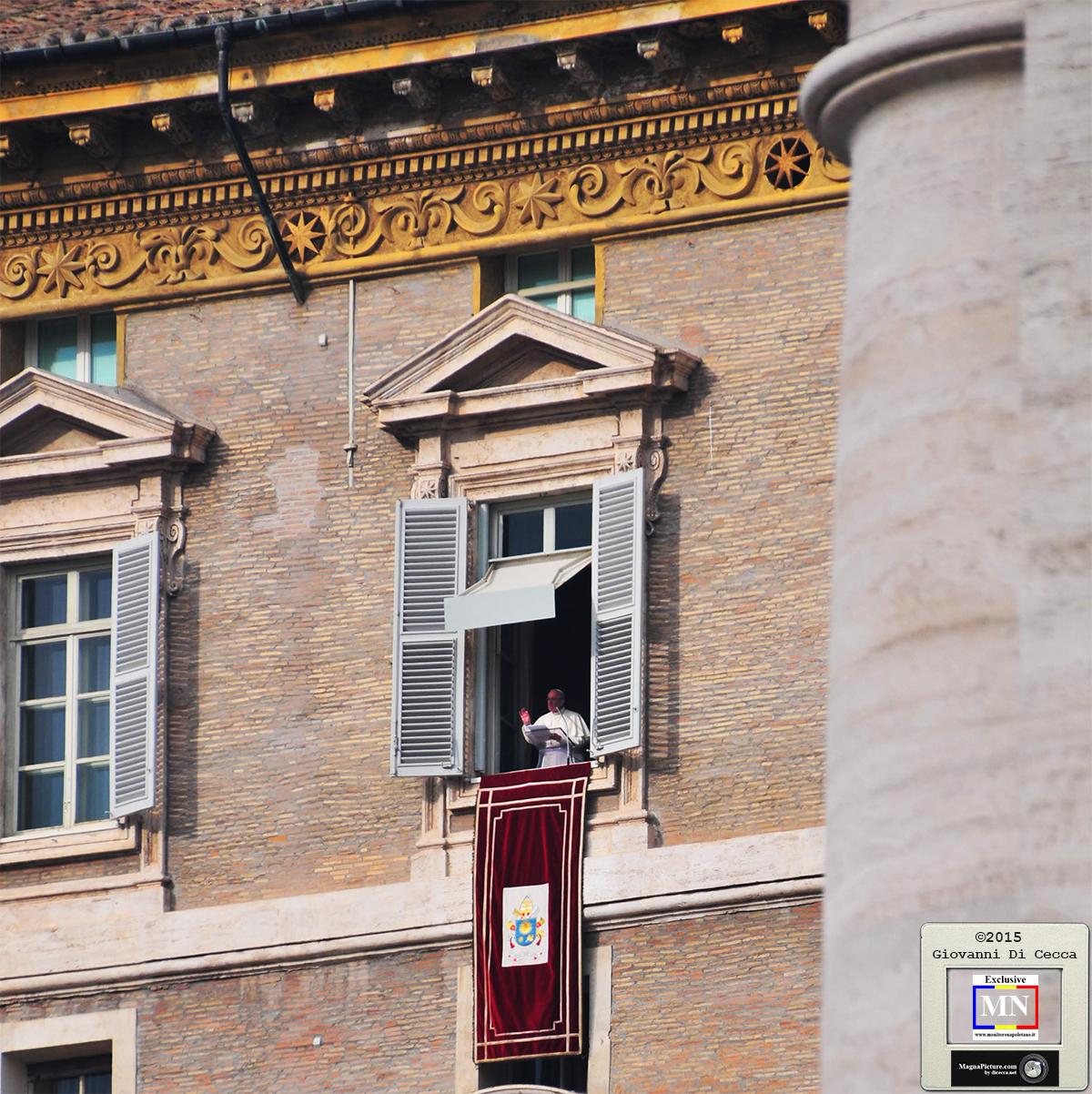 Coronavirus – Vaticano – Angelus del Papa in diretta streaming
