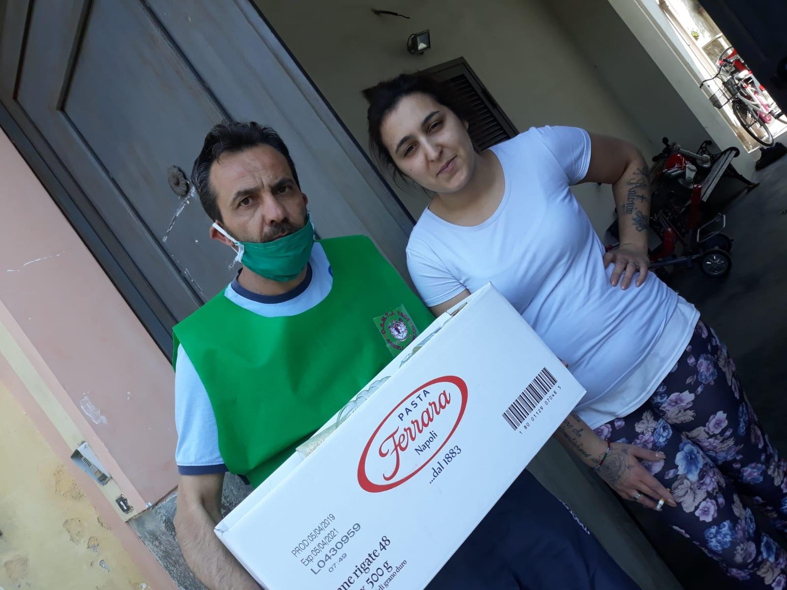 Covid 19 – Gli Angeli Templari stanno distribuendo aiuti