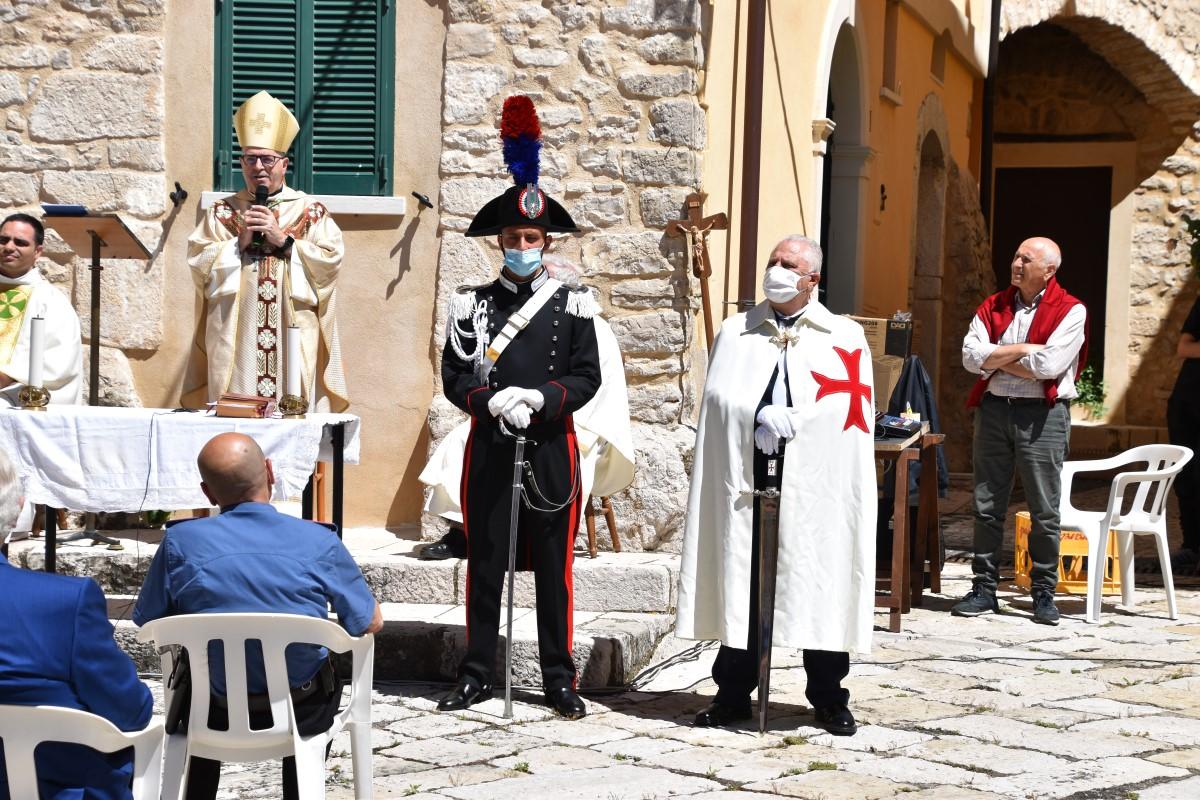 Campodimele (LT) – I Templari alla Festa di Sant'Onofrio patrono del Comune