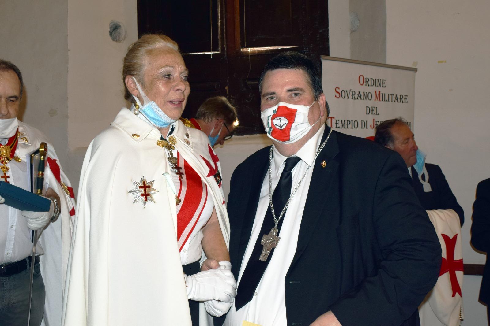Somma Vesuviana (NA) – Aurelio Deyme insignito della Croce Giubilare dei Templari