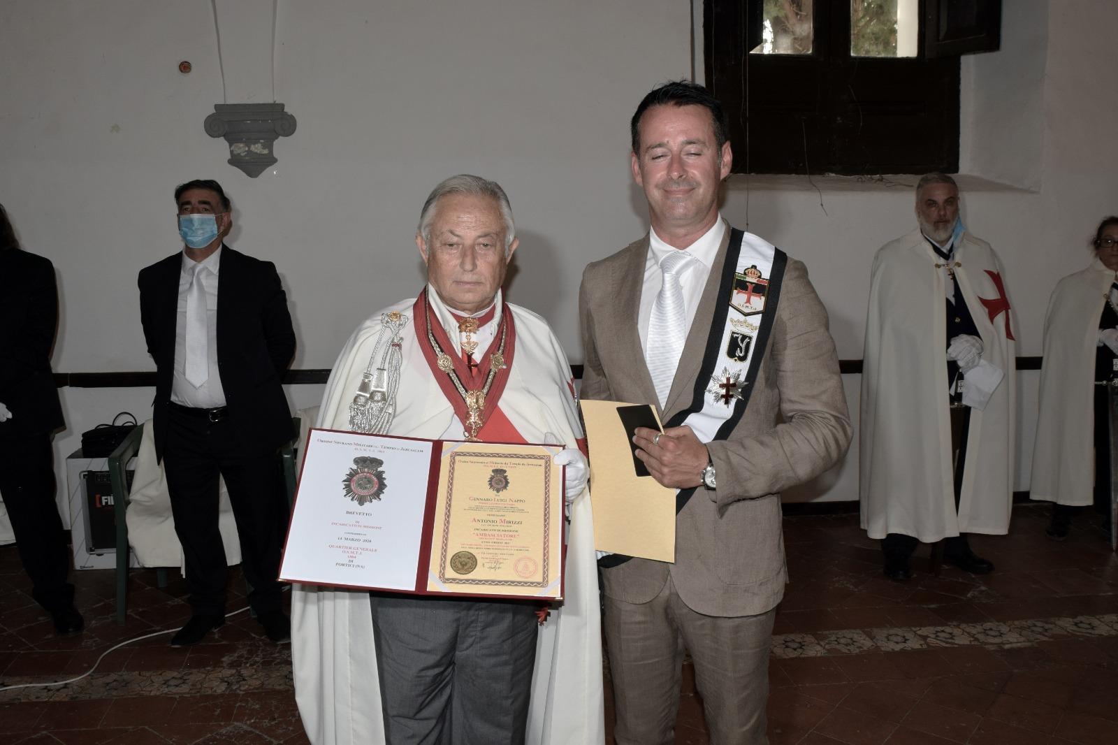 Somma Vesuviana (NA) – Il Cav. Antonio Mirizzi Ambasciatore Templare in Mozambico