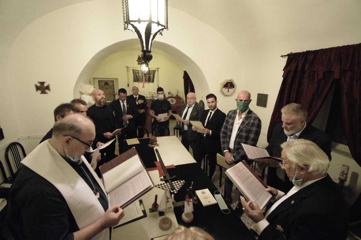 Portici (NA) – Veglia Templare per i nuovi Postulanti