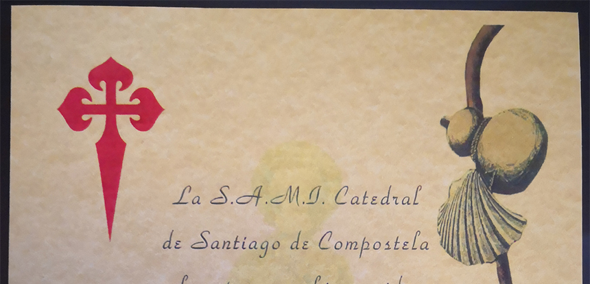 Salerno – I Cavv. Roberto Nobile e Carlo Coppola sono entrati a far parte della Congrega di Santiago de Compostela