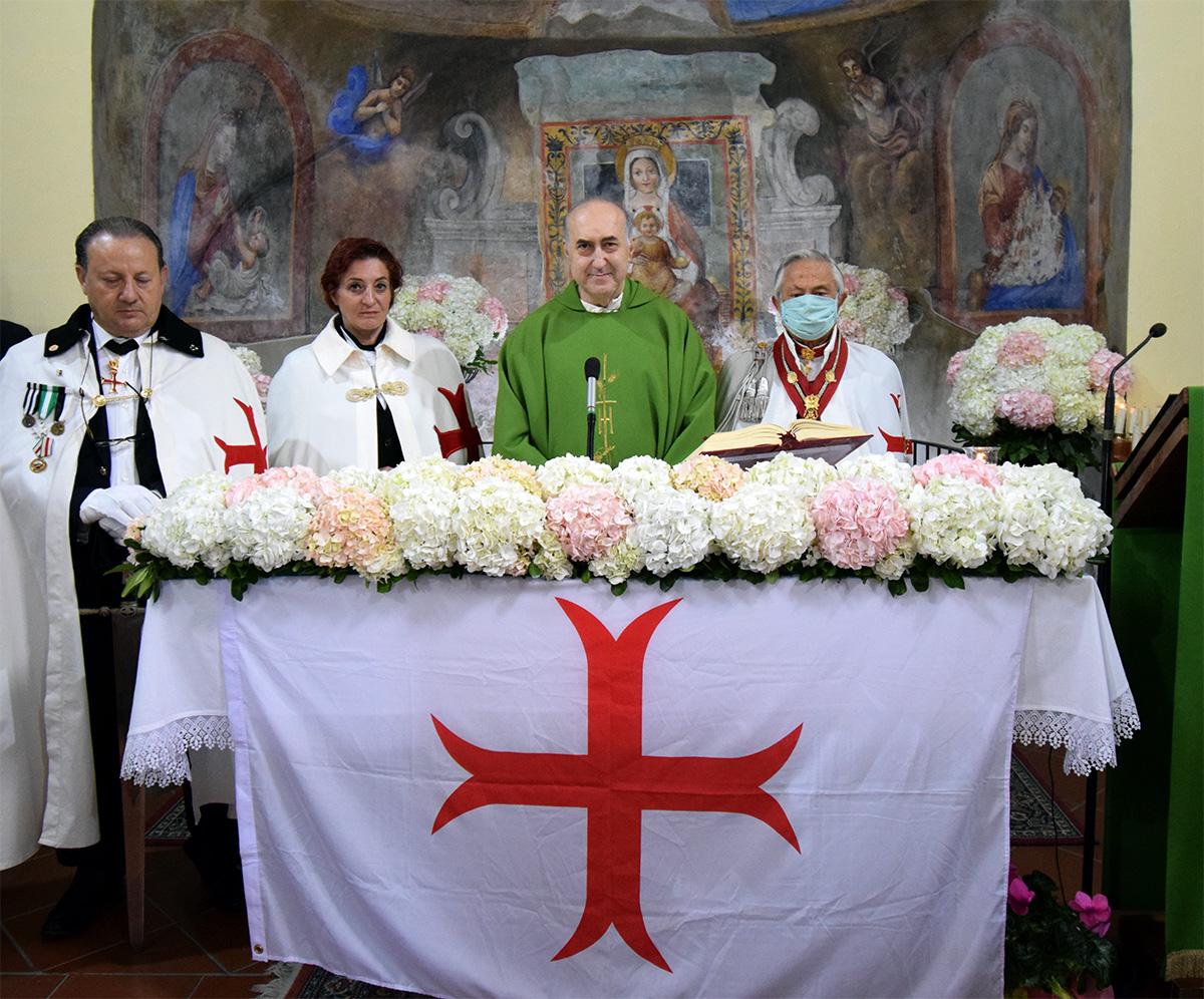 Napoli – E' tornato alla casa del Padre il Cappellano dell'Ordine don Enzo Passante