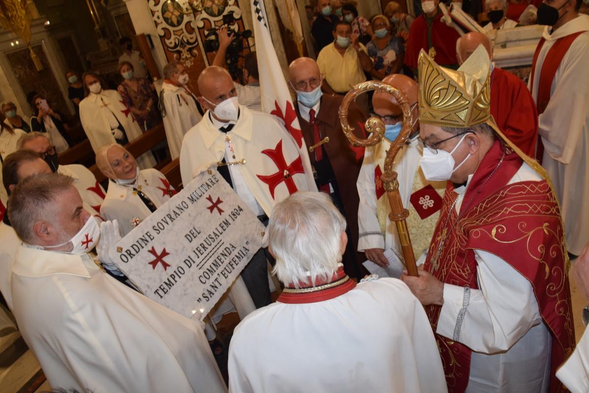 Carinaro – Festa di  Sant'Eufemia con il Card. Crescenzio Sepe